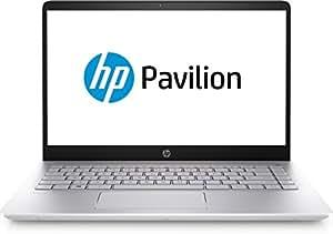 "HP Pavilion - 14-bf177tx Laptop with IntelCore i7-8550U Processor 1.8 GHz/8GB DDR4 RAM/1TB SATA HDD/14"" Screen/ Windows 10 Home 64 / NVIDIAGeForceMX130 (2 GB DDR3 Dedicated) Silver"