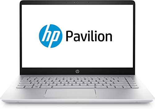 HP Pavilion -14-bf175tx Laptop, Intel Core I5 Processor 8520U@1.8Ghz / 8GB RAM/1TB HDD/2GB Graphics/Windows 10/ Silver Colour/1.54Kgs.