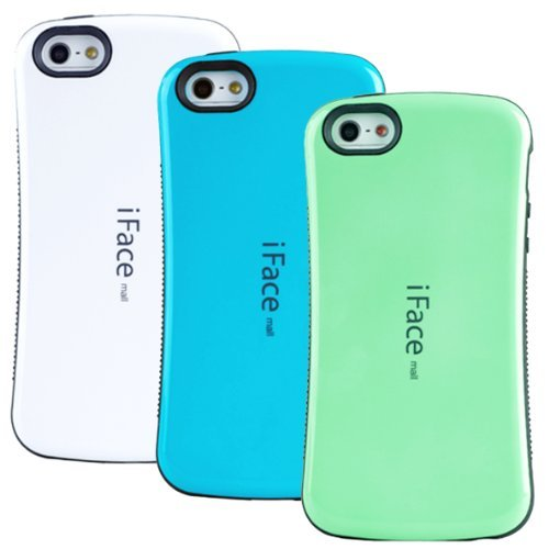 huaxia-datacom-pack-of-3-ultra-shock-absorbing-iface-case-cover-for-apple-iphone-5-5g-white-emerald-