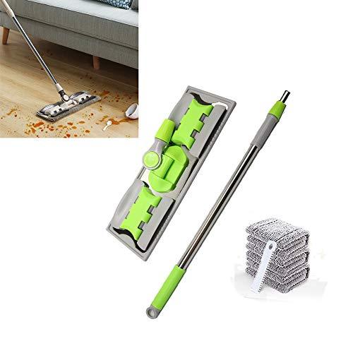 Modenny mop per la pulizia dei pavimenti mop per secchio swob magic & easy & broom in microfibra per la pulizia dei tamponi in fibra superfine