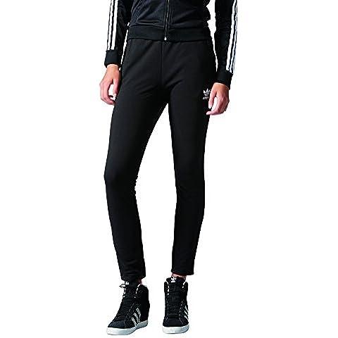 Adidas da donna Slim Pantaloni da allenamento, Donna, Slim, Black, 36