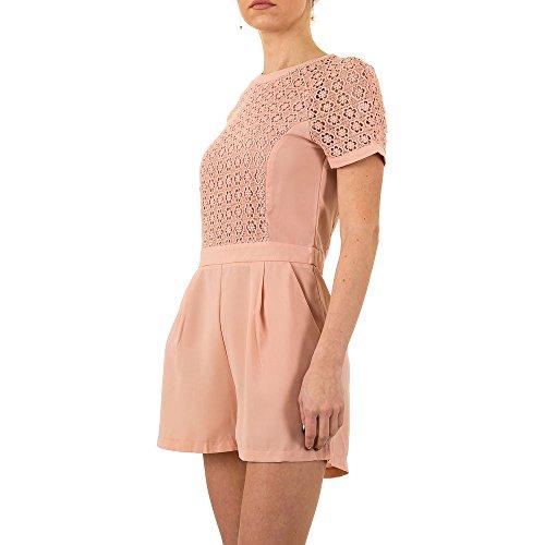 Spitzen Overall Für Damen bei Ital-Design Rosa