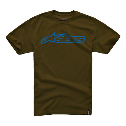 Alpinestars Herren Short Sleeve T-shirts Blaze Classic Tee JAVA/BLUE