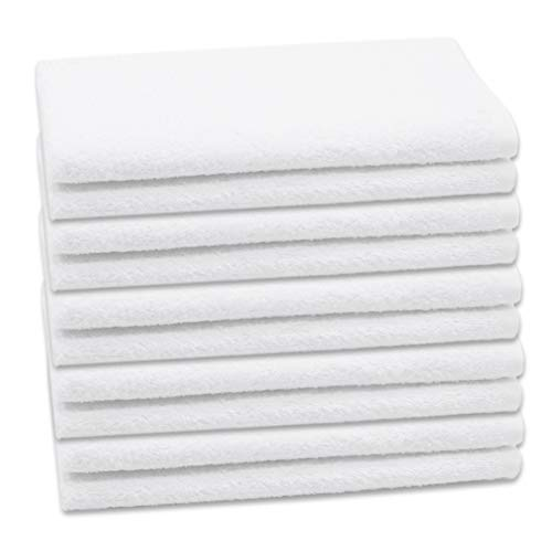 ZOLLNER Set di 10 Asciugamani per Gli Ospiti 40x60 Cotone Altra Misura