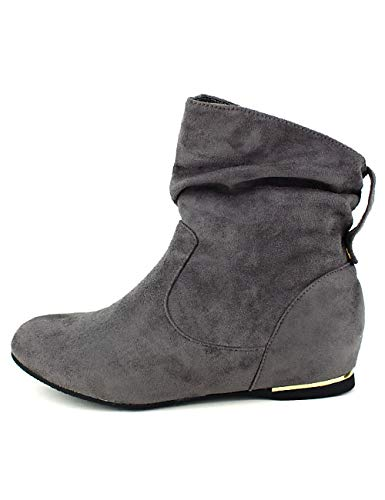 Cendriyon, Bottines Grises Bello Star Moda Chaussures Femme