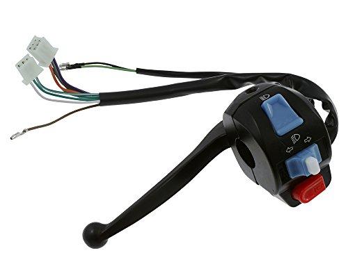 Preisvergleich Produktbild 2EXTREME Schaltereinheit Lenker Links mit Bremshebel Version 2 für Benzhou Retro Star,  YY50QT-14,  YY50QT-26
