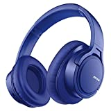 Mpow H7 Bluetooth Headphones Over Ear, [18 Hrs Playtime] Wireless Headphones, Lightweight Memory-Protein Earmuff Headset w/Bag, Hi-Fi Stereo Headphones with CVC6.0 Mic for Cellphone PC Laptop