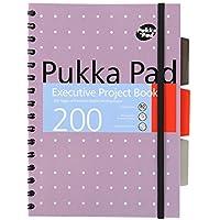 Pukka Pad - Libreta para proyectos ejecutivos, A5, 200páginas, 1sola libreta
