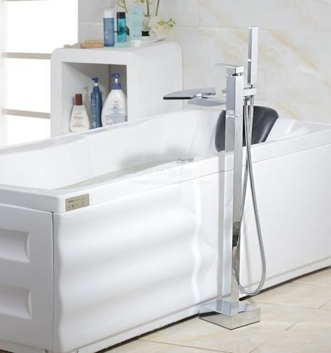 UHM, Wasserfall, Whirlpool Badewanne montieren Filler faucet mixer freistehende Dusche