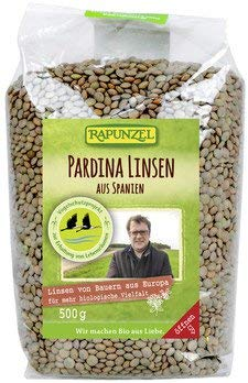 Rapunzel Bio Pardina Linsen aus Spanien (2 x 500 gr)*