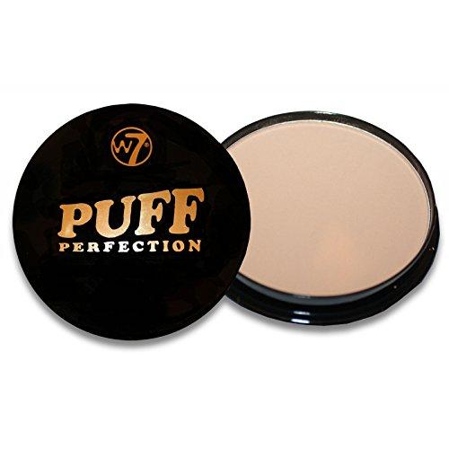 w7 Puff Perfection Medium Beige Fond de Teint Crème Poudre Compacte 41 g