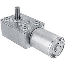 DC 12V Motor de Reducción de Velocidad Motor de Engranaje Motor de Alta Tensión Reversible (5RPM)