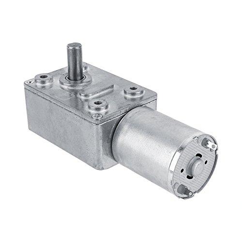 Motoriduttore a vite senza fine reversibile con motore a coppia elevata DC 12V CW/CCW(5RPM)