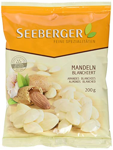 Seeberger Mandeln blanchiert, 12er Pack (12 x 200 g Beutel)
