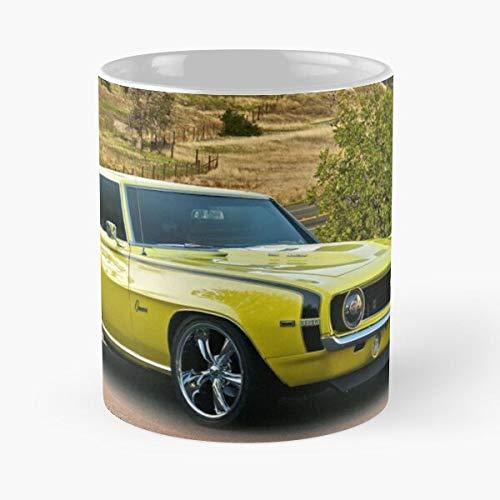 1969 Chevrolet Camaro 'cowl Induction' Classic Mug - Best Gift Coffee Mugs 11 Oz