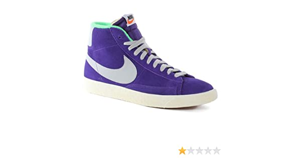 super popular 9d016 80765 nike blazer MID PRM VNTG SUEDE mens hi top trainers 538282 500 sneakers  shoes  Amazon.co.uk  Shoes   Bags