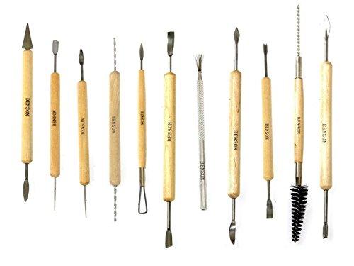 11 tlg Set Modellierwerkzeug