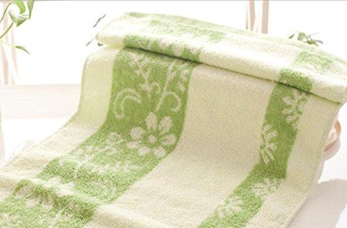 xxffh-asciugamano-da-bagno-stadera-acqua-ispessita-asciugamano-di-cotone-14-amore-fiore-green