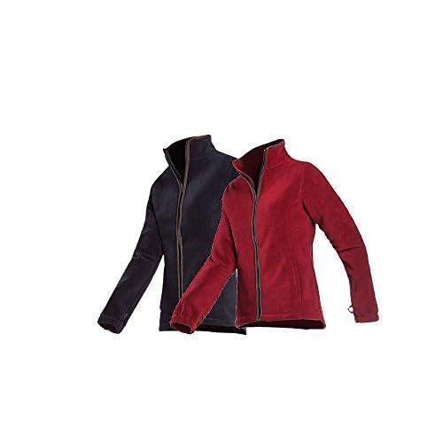 416VzUW4wbL. SS500  - Baleno Women's Sarah Baleno Women's Sarah Fleece Jacket - Wine Red, Large