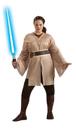 Jedi Ritter 'Star Wars' Kostüm für Damen Gr. XL, Größe:XL