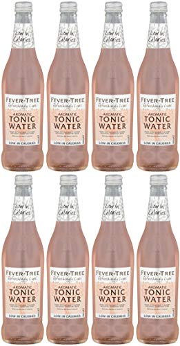 Fever-Tree Refreshingly Light Aromatic Tonic Water 500 ml (Pack of 8) (Spice Tree)