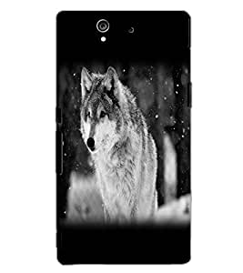 SONY XPERIA Z WOLF Back Cover by PRINTSWAG