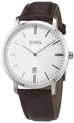 Hugo BOSS Herren-Armbanduhr 1513462 (Hugo Boss Leder Braun)
