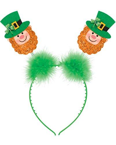 St. Patricks Day Haarreif mit Kobolden für die Feierlichkeiten zum St. Patricksday (Das Kobold Kostüm Tragen)
