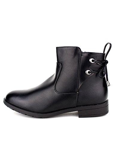 Cendriyon Bottines Noires Nathalia Chaussures Femme
