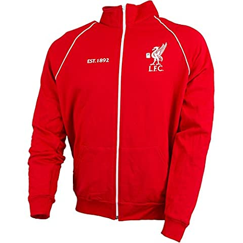 FC Liverpool Track Jacket Oldschool, red