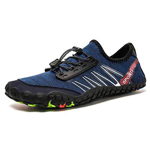bacf88bb57 PADGENE Water Shoes Socks Barefoot Skin Swim Shoes, Men Women Quick Dry  Water Sport Shoes