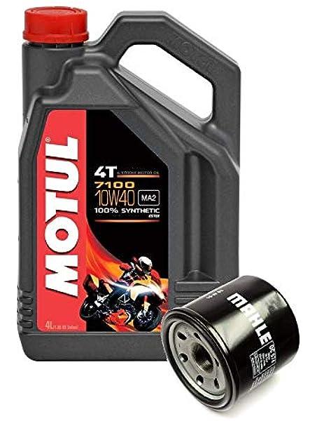 Motul Duo Motorrad Ölwechsel Service 7100 4t 10w 40 Synthetik 4 Liter Oc574 Ölfilter Auto