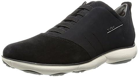 Geox U NEBULA B, Herren Sneakers, Schwarz (BLACKC9999), 43 EU
