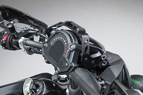 SW Motech GPS.08.866.10000/B Soporte para Navi de extraíble en la Cabina para Kawasaki Z6502016, Negro