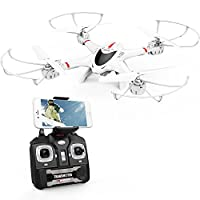 MJX X400C WIFI FPV Drone With Camera Live Video Headless Mode Quadcopter Stable Easy Control for Beginners and Practice Compatible with 3D VR Headset from MJX