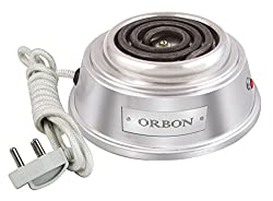 Orbon 500 Watts Baby Coil Stove With ON-OFF Indicator/Electric Cooking Heater/Induction Radient Cooktop ( Made In India ) ( HUGE DIWALI DISCOUNT & FREE SHIPPING )