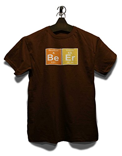 Beer Elements T-Shirt Braun