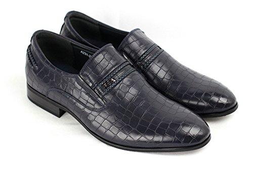 Herren Slipper Klug Freizeit Schuhe Marine