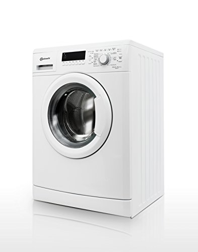 Bauknecht WAK 83 Waschmaschine FL / A+++ / 193 kWh/Jahr / 1400 UpM / 8 kg / 11000 L/Jahr / Mengenautomatik /Unterbaufähig / weiß - 8