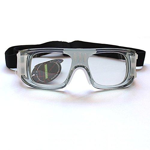 BASKETBALL Fußball Fußball Schutzbrille männlich Herren Weiblich Frauen Outdoor Sport Brillen ohne Sehstärke Objektive