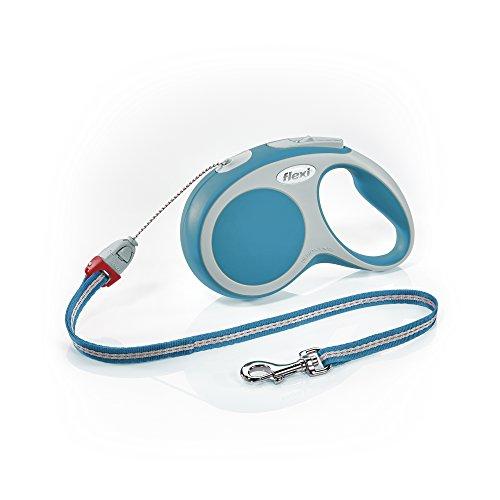 Flexi Roll-Leine Vario S Seil 8 m türkis für Hunde bis max. 12 kg