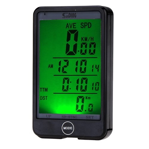 JSG AccessoriesÃ'® Wireless LCD waterproof Cycle...