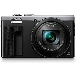 Panasonic DMC-TZ80 18.1MP Digital Camera with 30x Optical Zoom - Silver