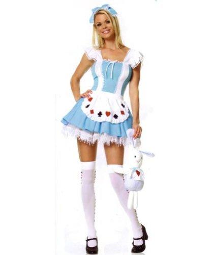 Leg Avenue Alice-Kostüm 3-teilig, 1 ()