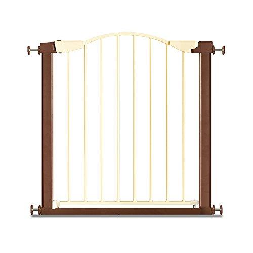 Treppengitter YNN Baby Safety Gate Erweiterbar Kind Zaun Stairway Barrier Haustier Hund Zaun Pole Isolation Tür Fit Tür Breite 75-84 cm (größe : 132-136cm(+10+45cm)) (Erweiterbar Gate Safety Baby)