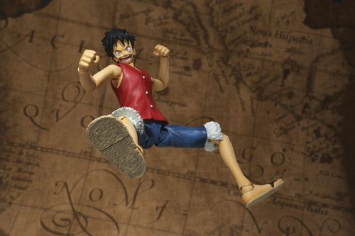 One Piece Bandai S.H. Figuarts 6 Inch Super Articulated Figure Monkey D. Luffy (japan import) 3