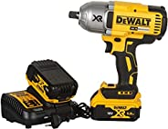 DEWALT DCF899P2 18V,13mm XR Li-ion Cordless High Torque Impact Wrench with Brushless motor and 2x5.0Ah Batteri