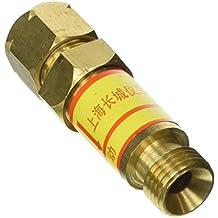 Sourcingmap - El regulador de soldadura montado tipo seco supresor de retroceso de acetileno