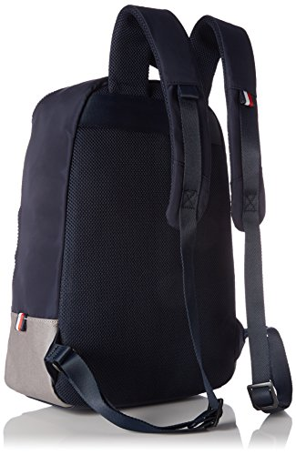 Tommy Hilfiger Herren Two Tone Backpack Rucksack, 13 x 45 x 33 cm Blau (NAVY/FROST Grey)