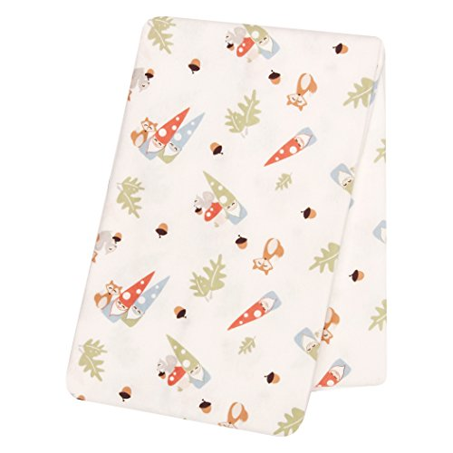 Trend Lab Forest Gnomes Deluxe Flanelle Nid d'ange